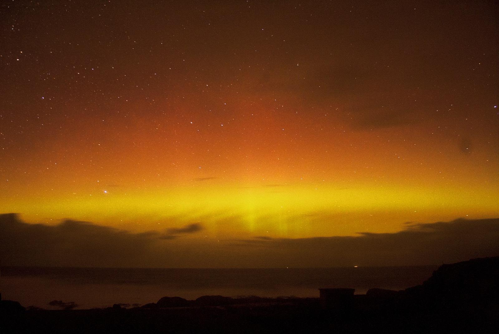 Les récentes aurore boréales à travers le monde. (Vidéos ... Donegal
