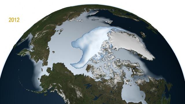 Glace arctique_2012