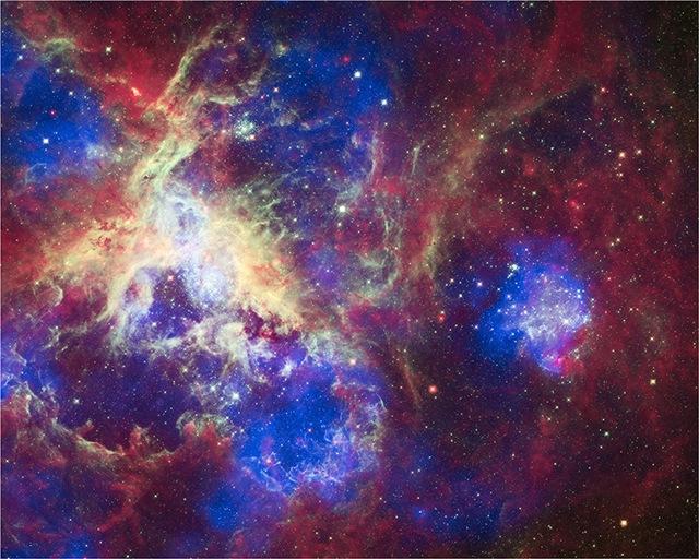 A New View of the Tarantula Nebula