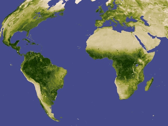 NASA-végétation-monde