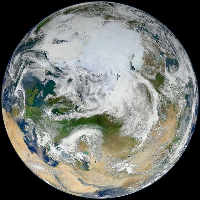 Suomi NPP-calotte glaciaire