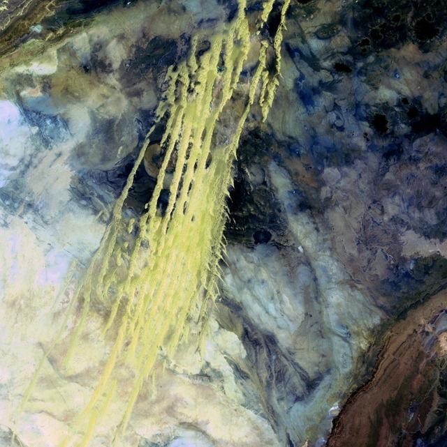 Erg Iguidi-Algérie-Landsat