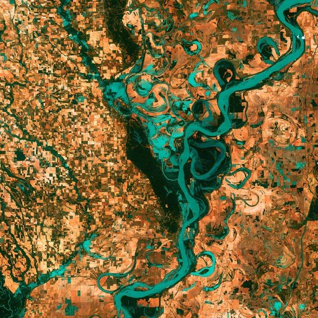 mississippi-Landsat