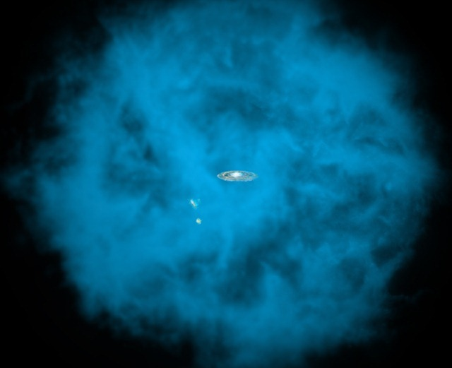 Milky Way is Surrounded by Huge Halo of Hot Gas
