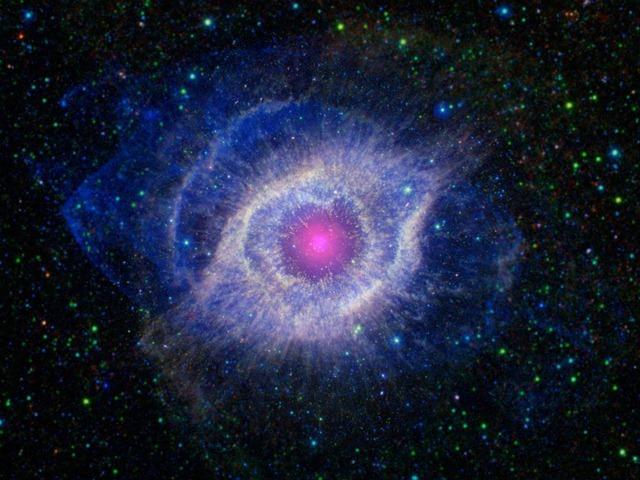 Spitzer-GALEX-Helix