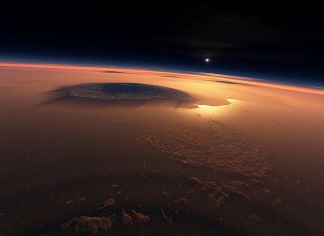 Des microbes de la Terre peuvent survivre aux conditions extrèmes de Mars.