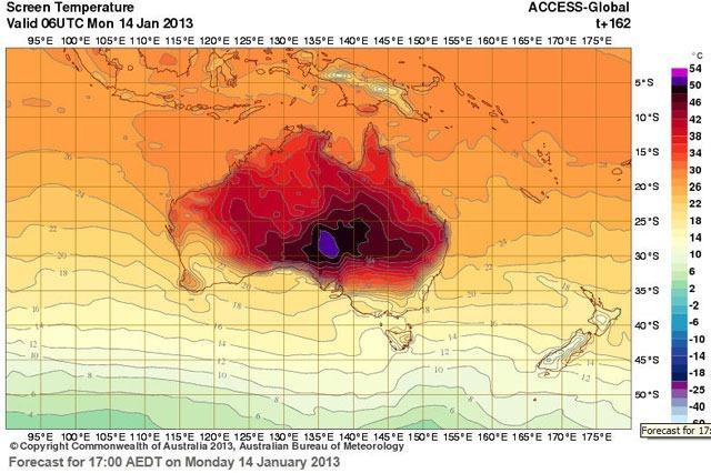 température-chaude-Australie