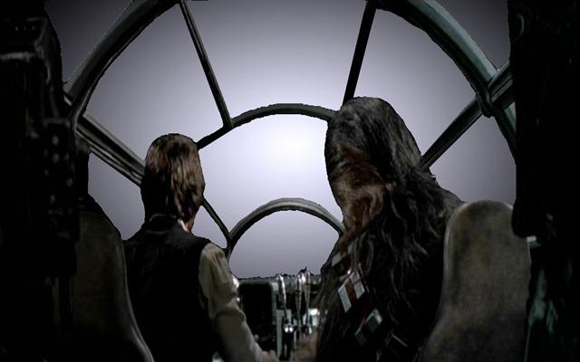 Voici ce que verraient réellement Han Solo et Chubaka s'ils tentaient d'atteindre la vitesse de la lumière Vue-vitesse-lumire4_thumb