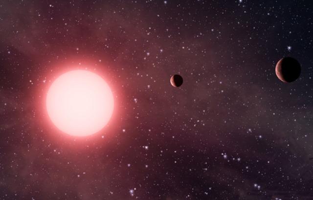 Découverte d'un système solaire beaucoup trop incliné