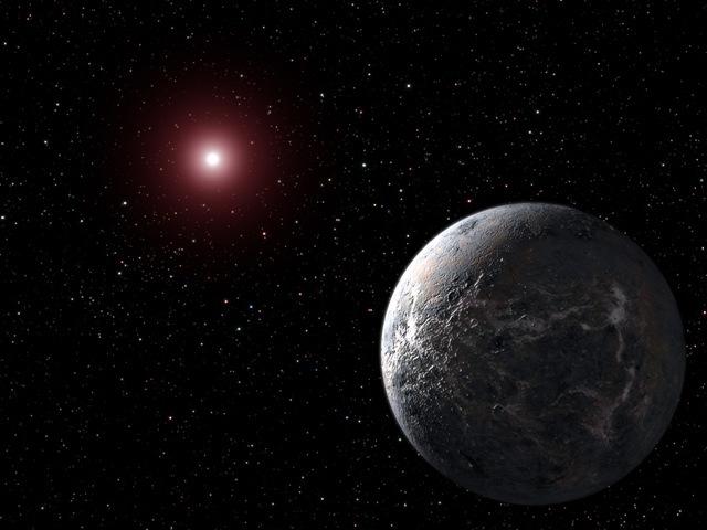 Représentation planète Alien