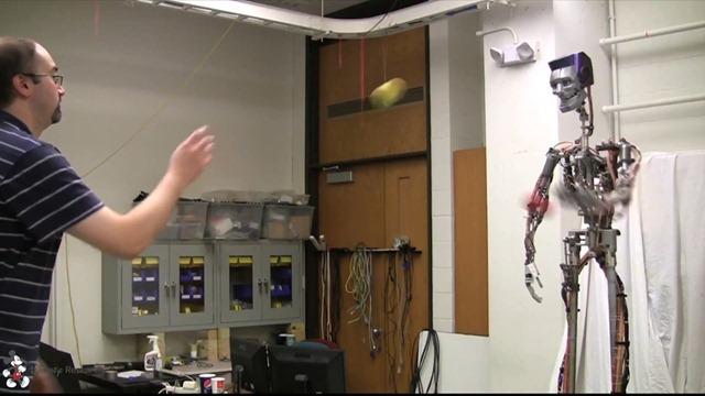 Cet humanoïde de chez Disney sait renvoyer la balle. (Vidéo)