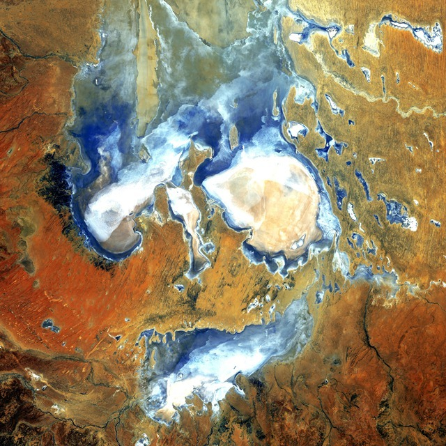 lac_eyre-Australie-Landsat