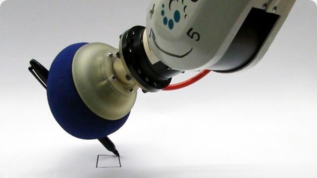 Une nouvelle main robotis e faite d un ballon rempli de caf gurumeditation - Comment degonfler un ballon ...