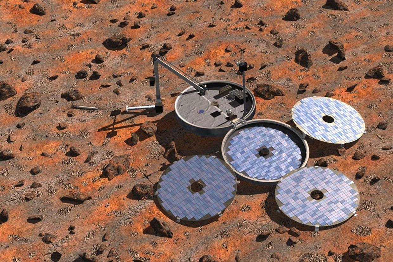 Ils ont retrouvé Beagle 2, un tout petit atterrisseur perdu sur la surface de Mars