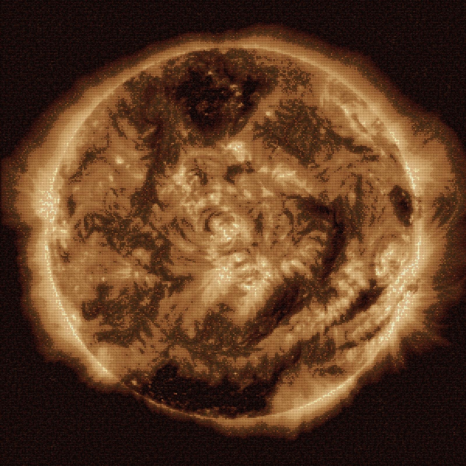 Pour la 100 millionièmes image du Soleil par la sonde SDO