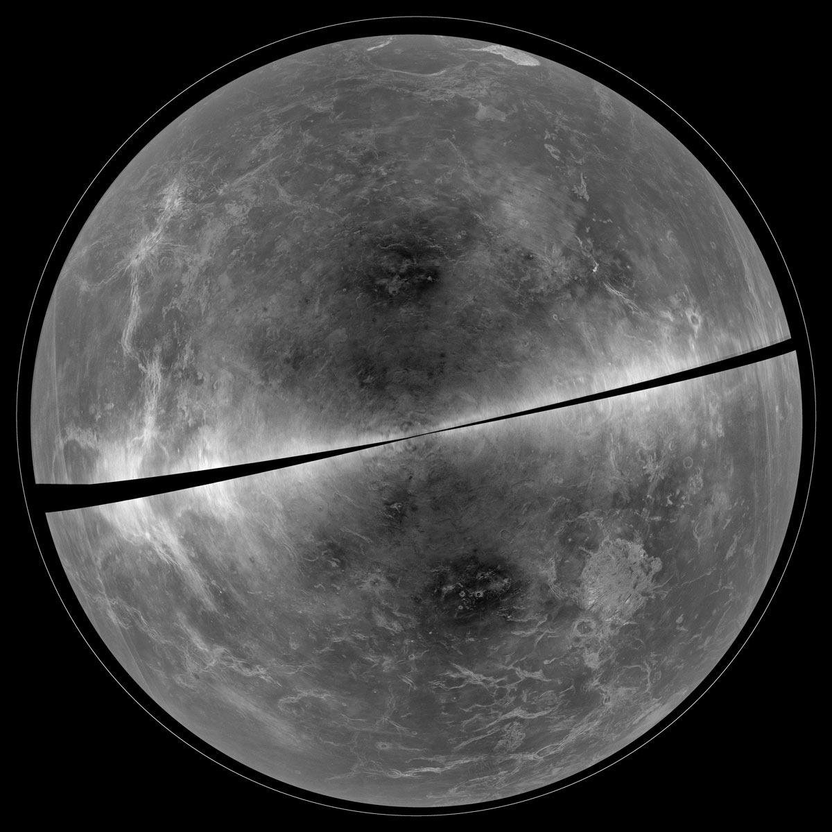 Vénus toute nue, sans son épais voile de nuages