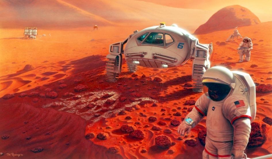 Qu'arrivera-t-il à votre cerveau lors d'un long voyage vers Mars?
