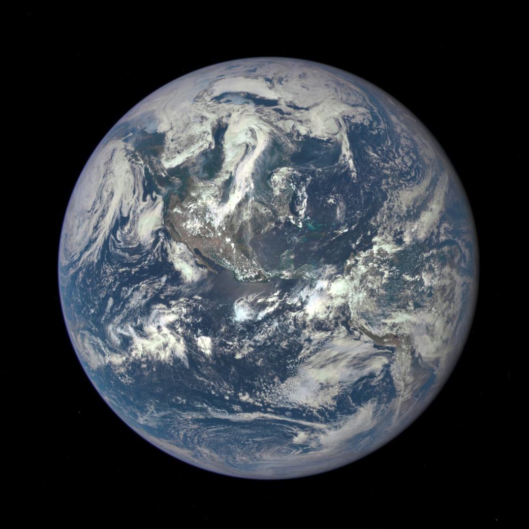 40 ans après, une nouvelle image de la Terre qui soit d'un seul tenant