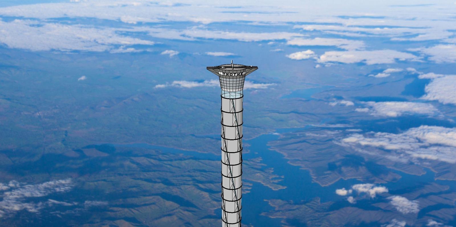 Un brevet déposé pour un modèle d'ascenseur de l'espace