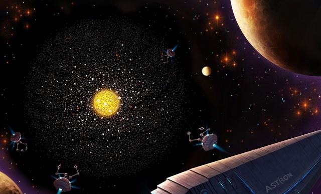 La recherche d'un empire galactique extraterrestre dans 100 000 galaxies n'a Vraiment rien donné