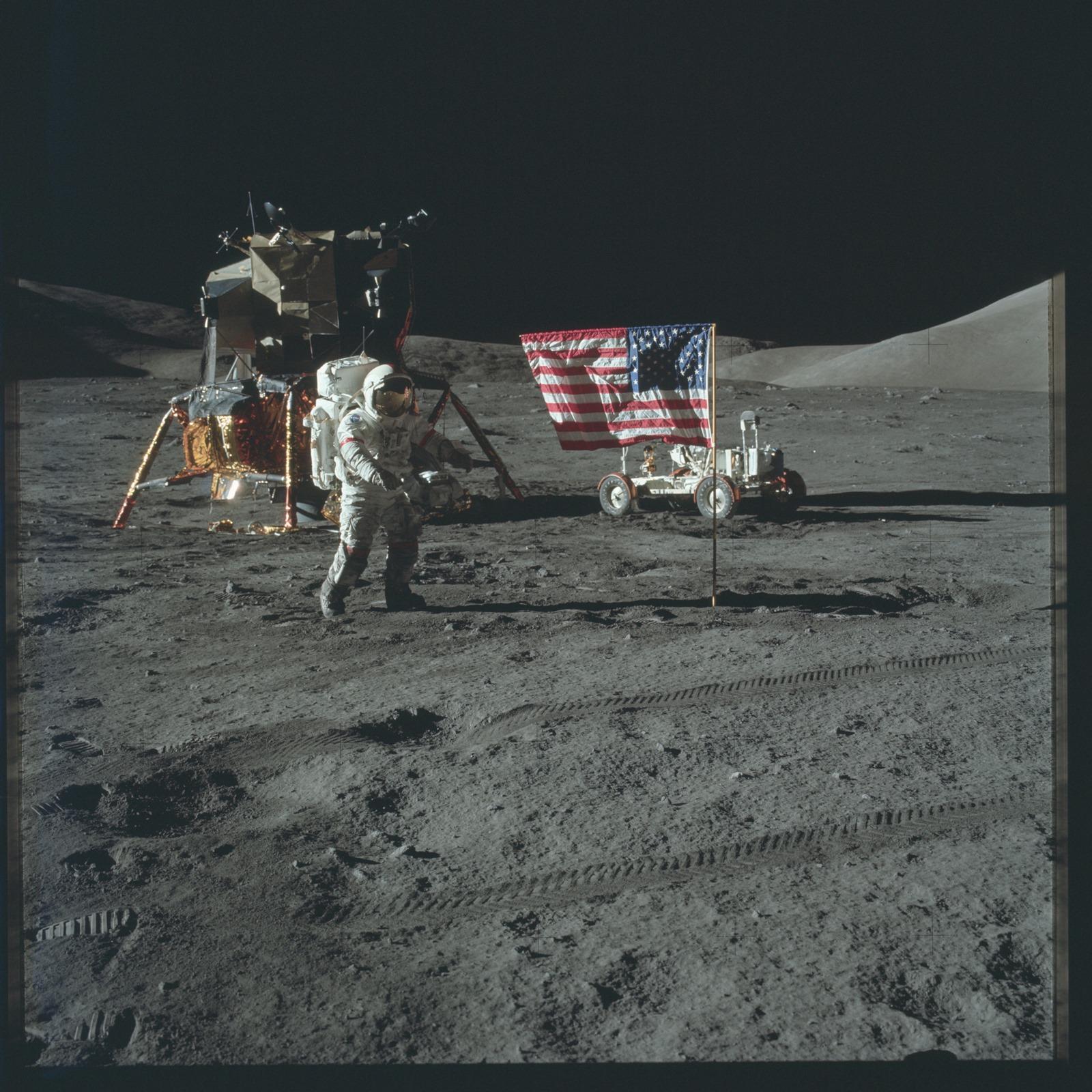 Des milliers de photos des missions lunaires du programme Apollo désormais disponibles sur Flickr