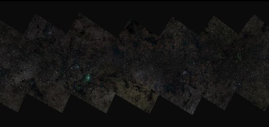 La plus grande image astronomique présente la Voie lactée avec 46 milliards de pixels