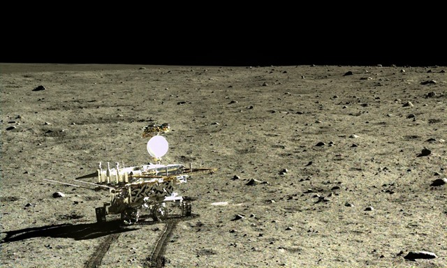 L'astromobile chinoise Yutu a découvert un nouveau type de roche sur la Lune