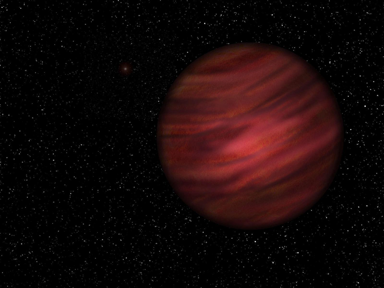 Une planète si éloignée de son étoile qu'elles représentent le plus grand système solaire connu