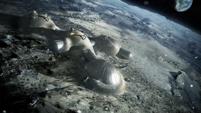 L'Agence spatiale européenne présente le projet du base lunaire pour 2030