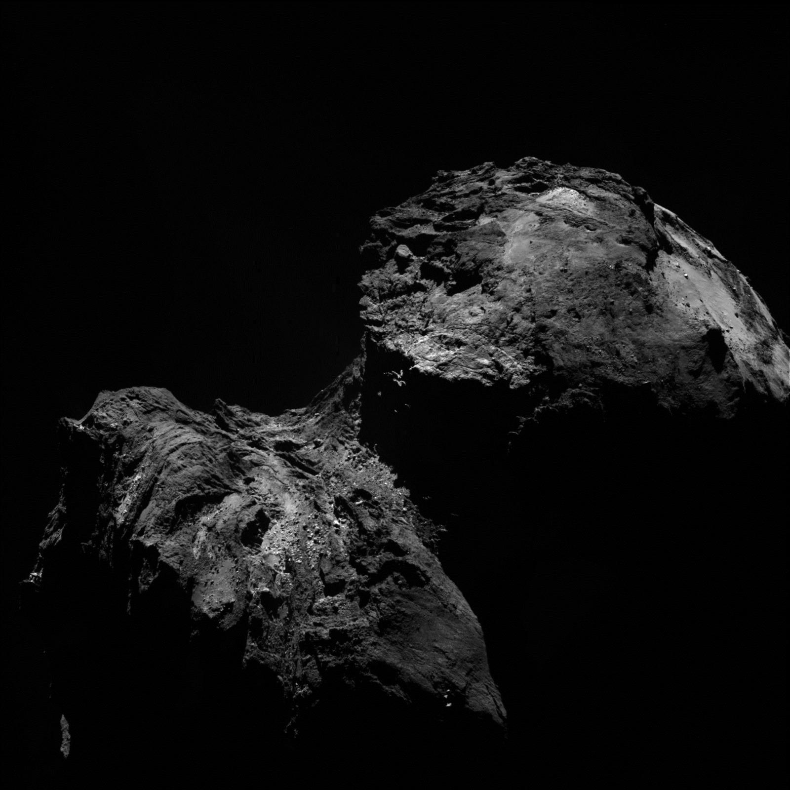 C'en est fini de l'atterrisseur Philae qui n'a pas répondu sur sa comète au dernier appel de la Terre