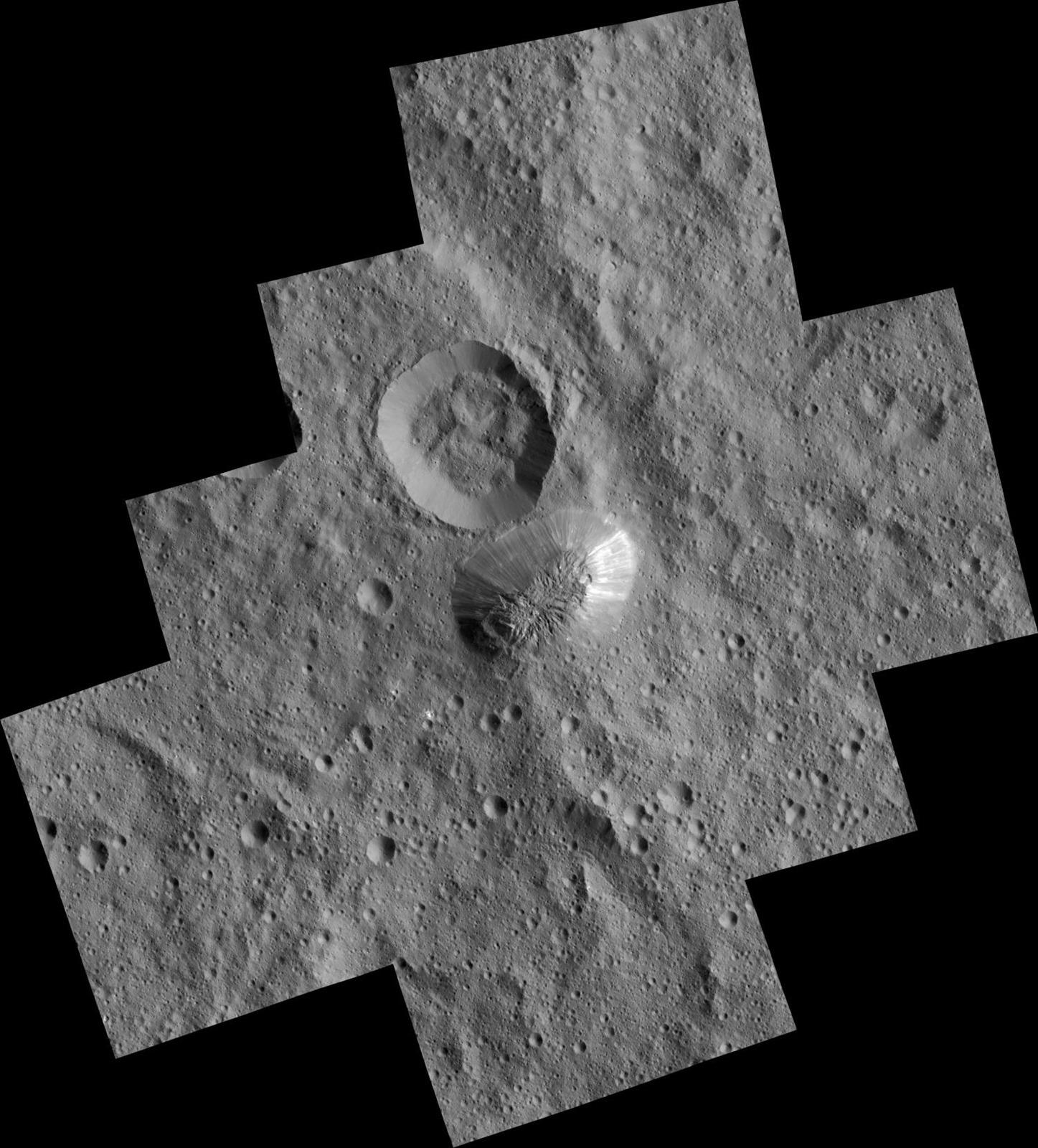 Zoom sur la mystérieuse montagne solitaire de la planète naine Cérès
