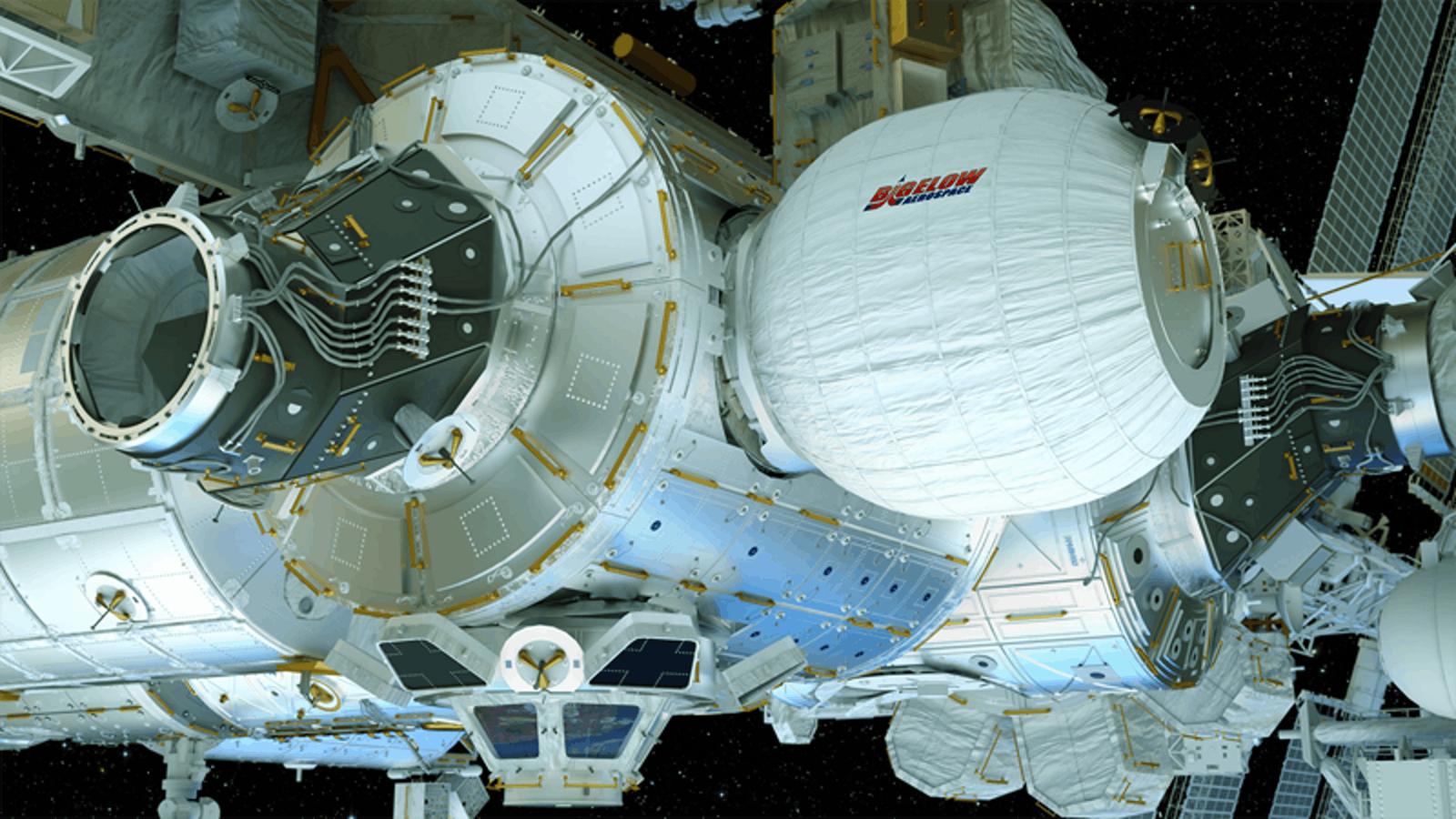 Le premier module spatial extensible et en tissus va bientôt être raccordé à la Station Spatiale Internationale
