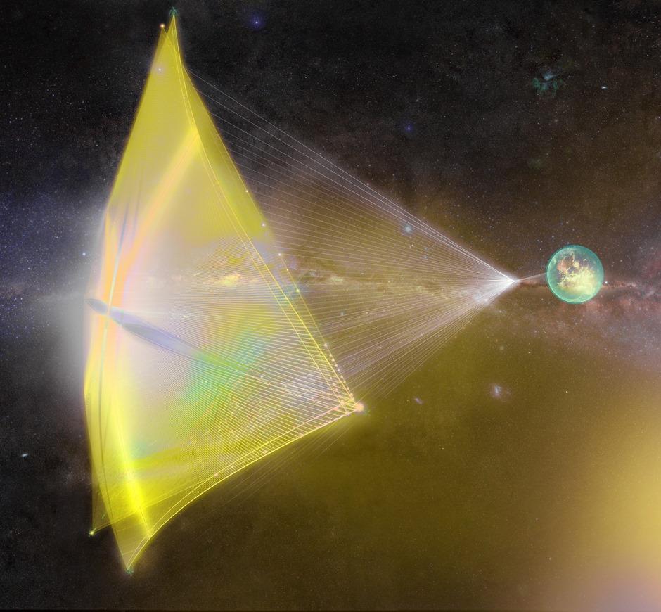 Stephen Hawking et ses fortunés camarades projettent de visiter le système d'étoiles le plus proche, en un rien de temps