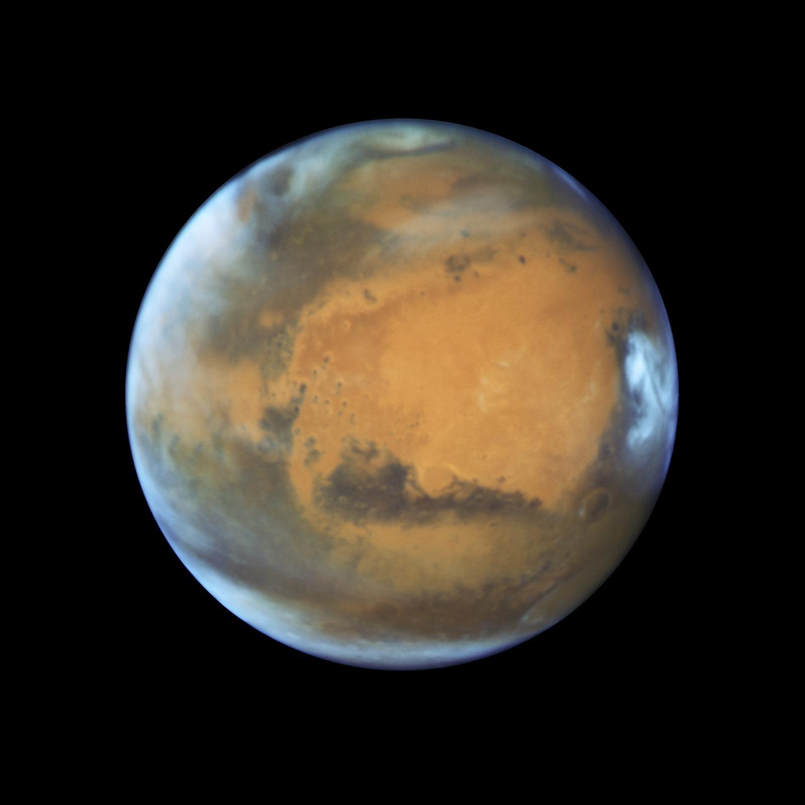 Mars fut sujette aux mégas tsunamis
