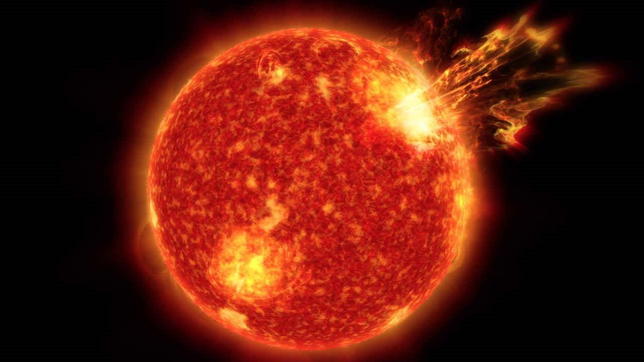 L'activité tumultueuse d'un jeune Soleil aurait été l'initiatrice de la vie sur Terre