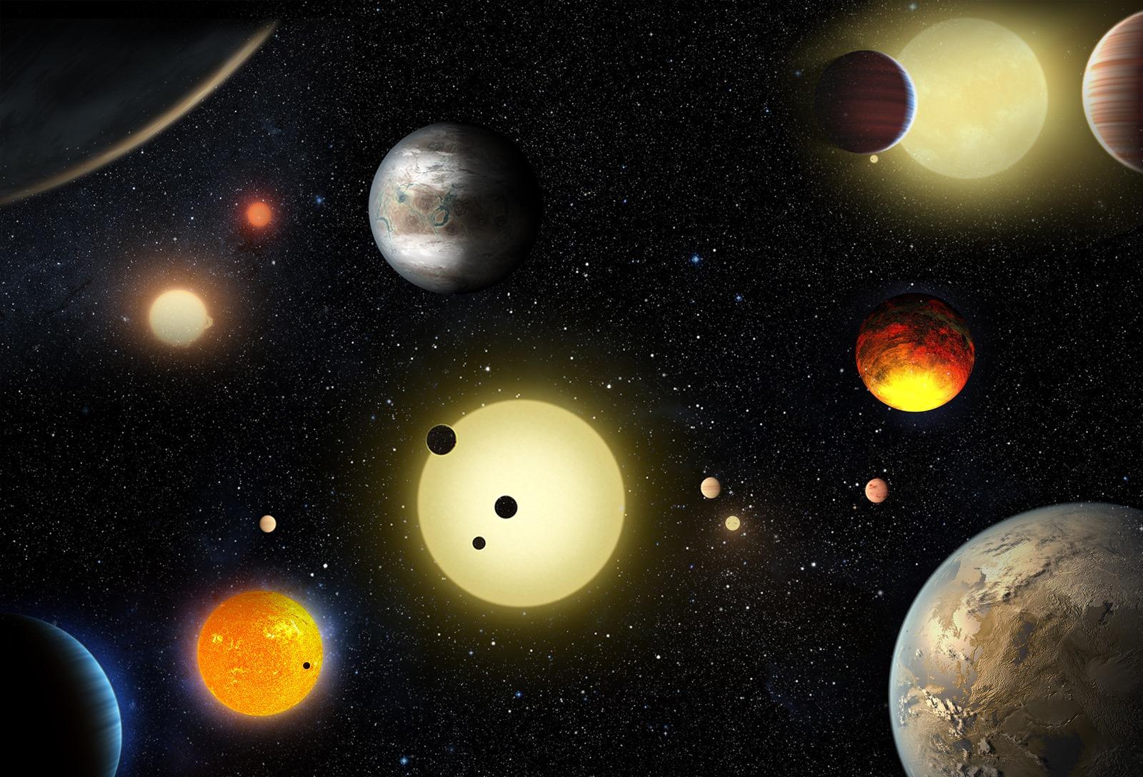 Découverte de 1 200 nouvelles planètes, dont 9 au demeurant habitables