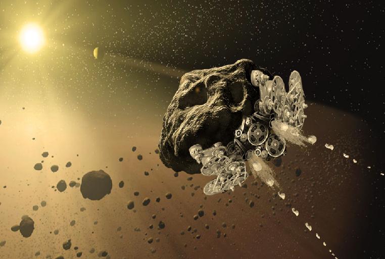 Le concept de la NASA pour transformer un astéroïde en vaisseau spatial