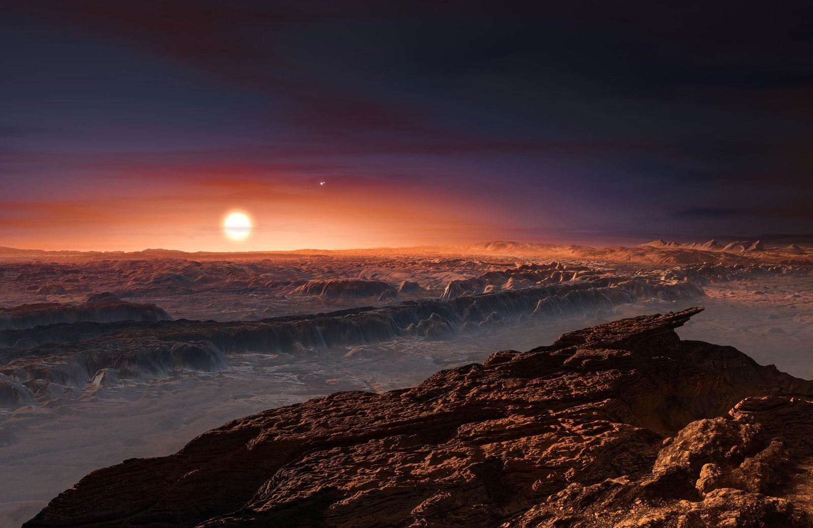 Découverte de la plus proche exoplanète potentiellement habitable, à une étoile d'ici