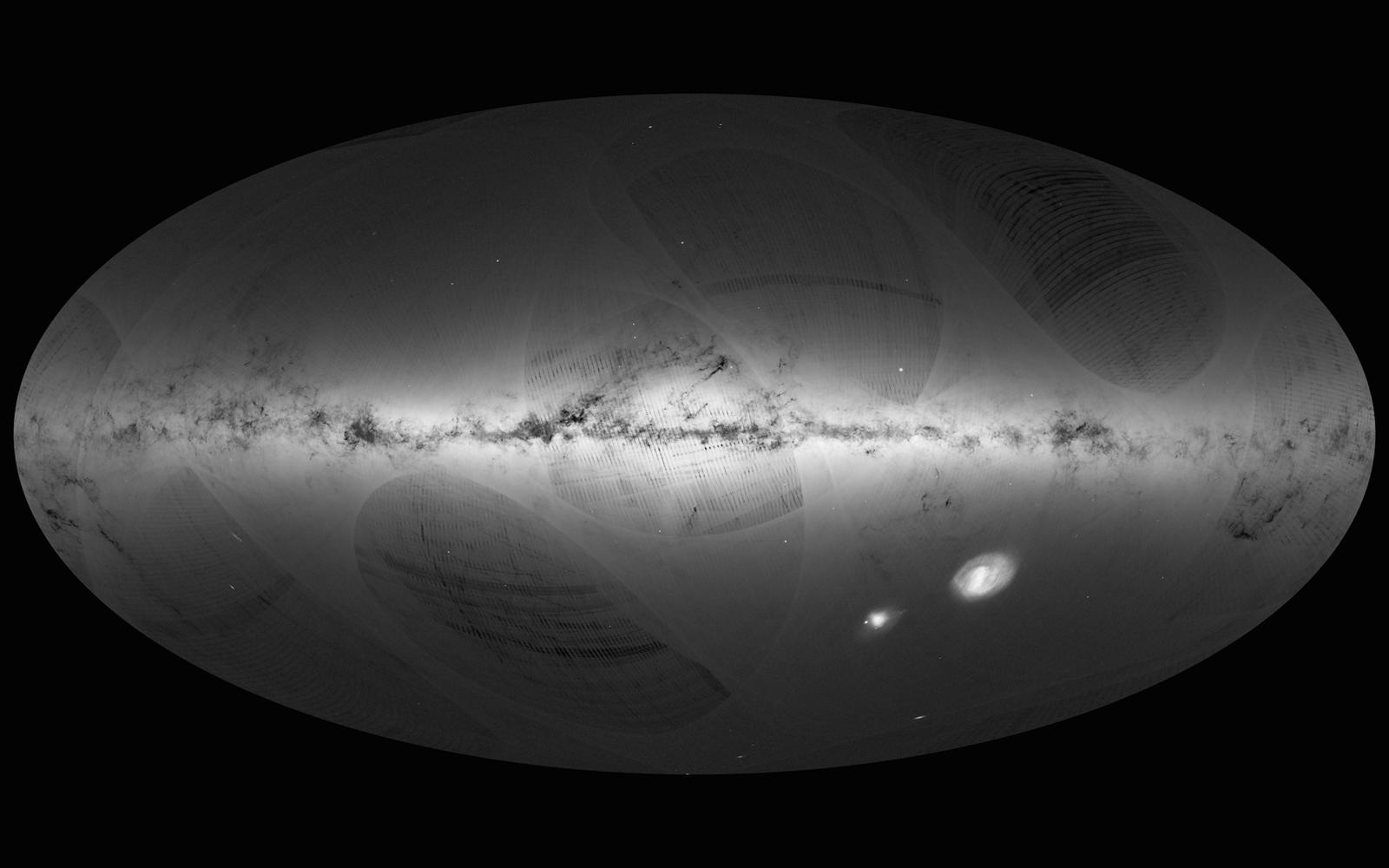 La plus grande carte 3D et la plus détaillée de la Voie lactée aux plus de 1 milliard d'étoiles recensées