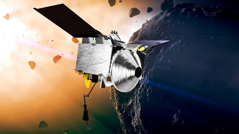 Lancement réussi pour la mission qui tentera de récupérer et de ramener des échantillons d'un astéroïde potentiellement dangereux pour la Terre