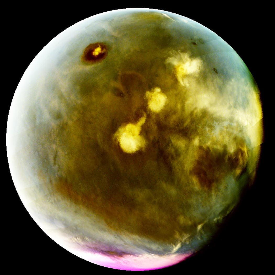 Mars révélé des secrets sous ses lueurs ultraviolettes