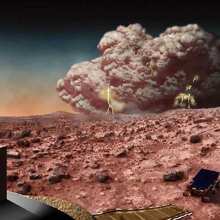 Avis de tempête de poussière globale sur Mars dans les semaines à venir