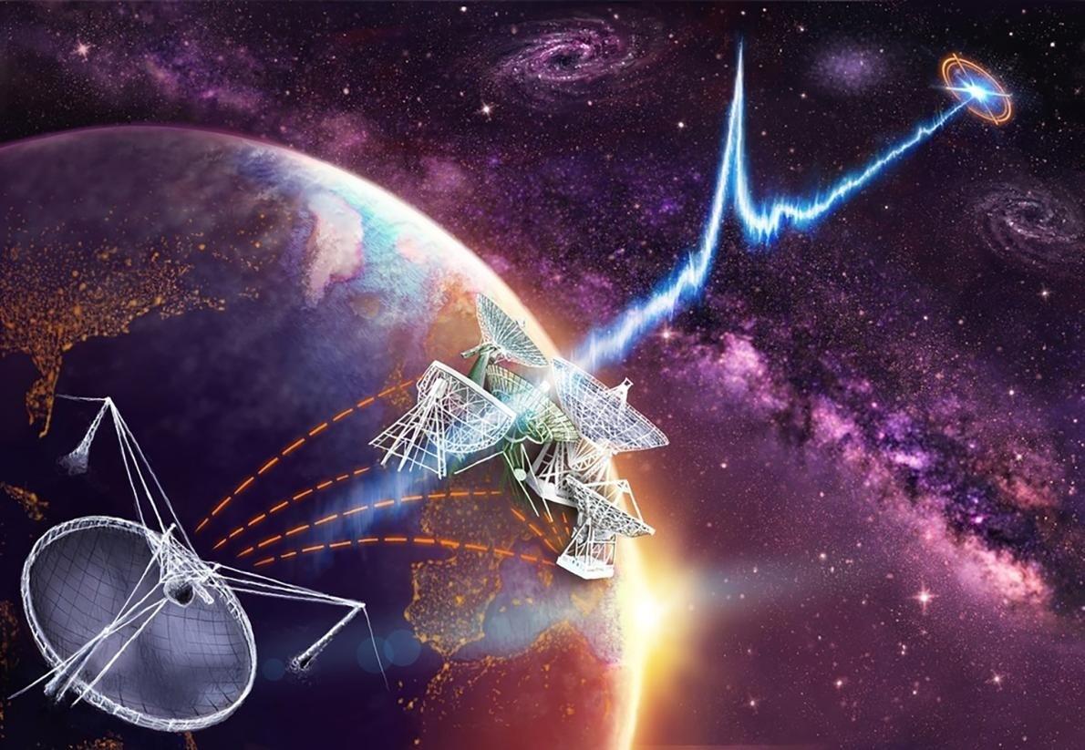 Des astronomes sont enfin remontés à l'origine de puissants flashs d'énergie diffusés dans l'espace