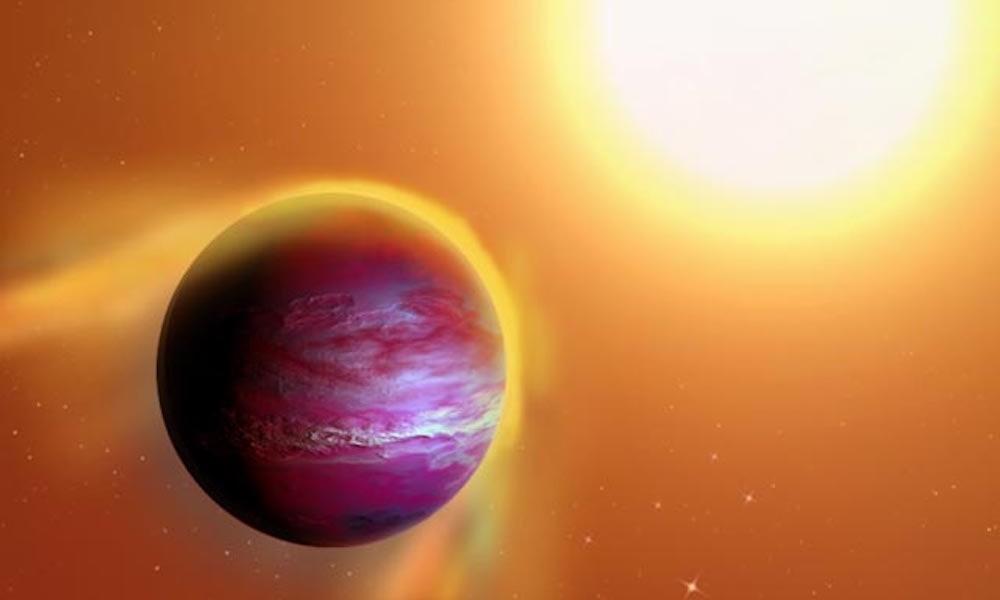 Le plongeon d'une planète et ses lunes dans l'étoile de Tabby serait-il à l'origine de ses mystérieuses variations de lumière ?