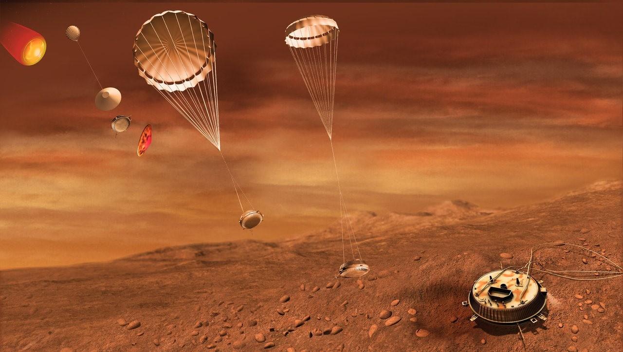 Une nouvelle vidéo de ce qu'a vu la sonde Huygens en atterrissant sur la plus grande lune de Saturne, Titan