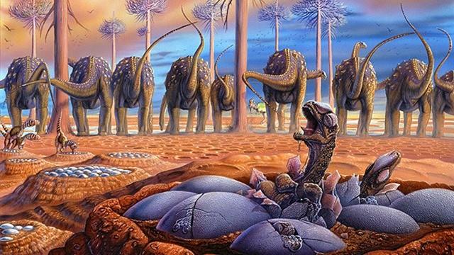 oeuf-Titanosaur