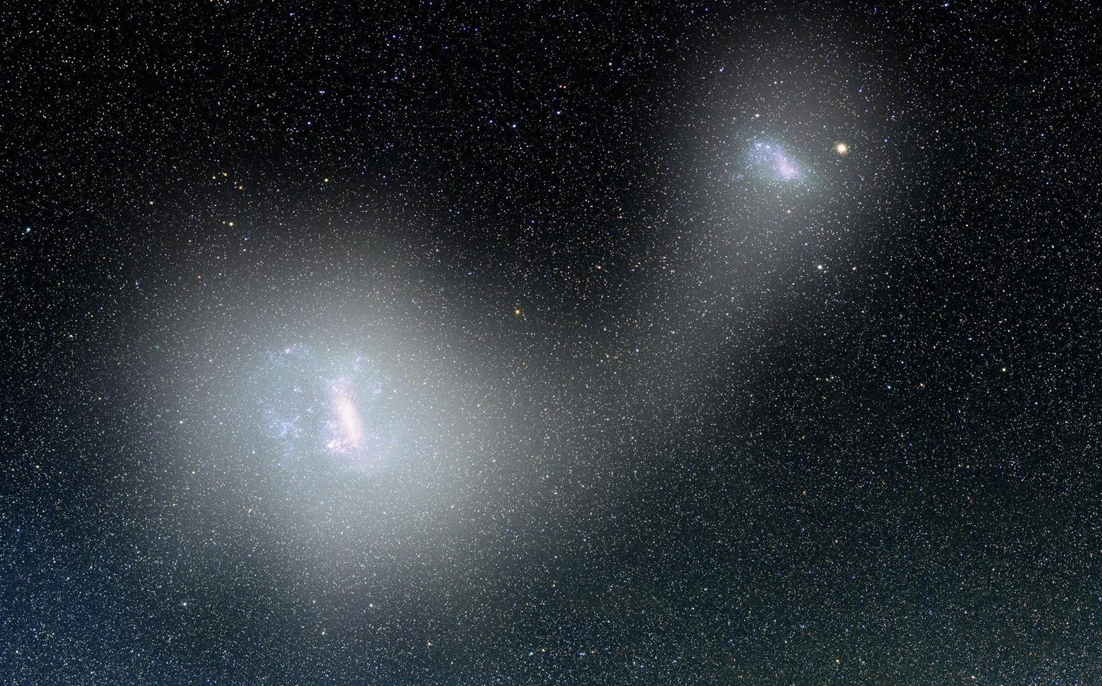 Un pont d'étoiles long de 43 000 années-lumière relie deux galaxies naines proches