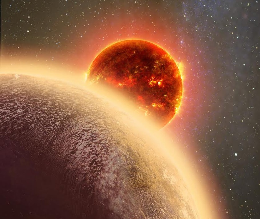 Une atmosphère détectée autour d'une lointaine planète de la taille de la terre