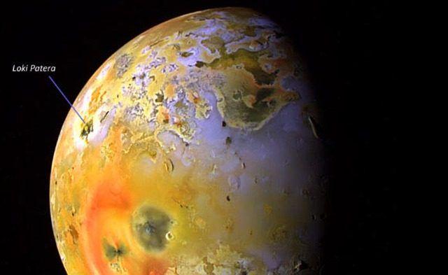 D'immenses coulées de lave détectées sur la lune de Jupiter, Io