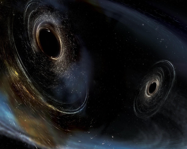 Troisième détection des ondes laissées sur la toile de l'espace-temps par deux trous noirs fusionnants